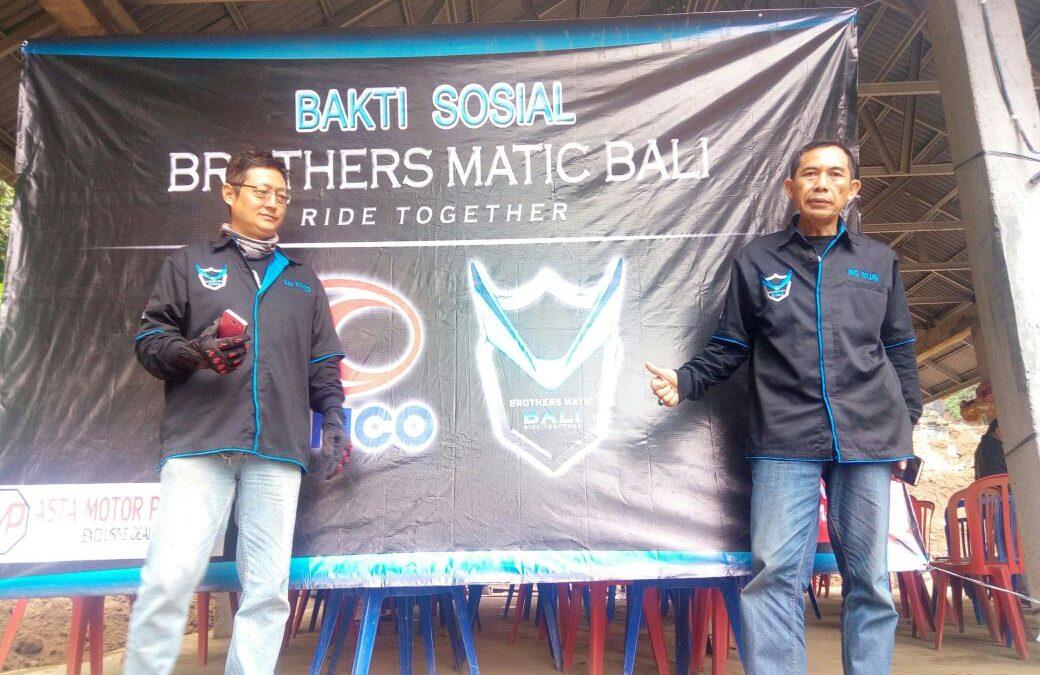 BanSos Awal Tahun Kymco Club Brothers Matic Bali