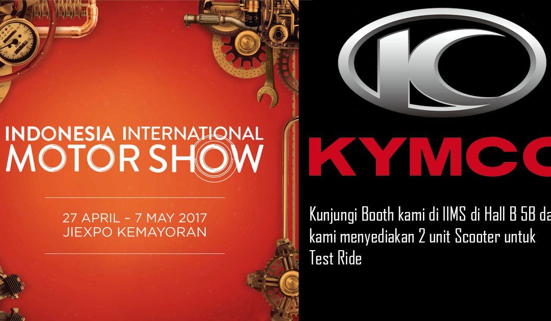 INDONESIA INTERNATIONAL MOTOR SHOW 2017