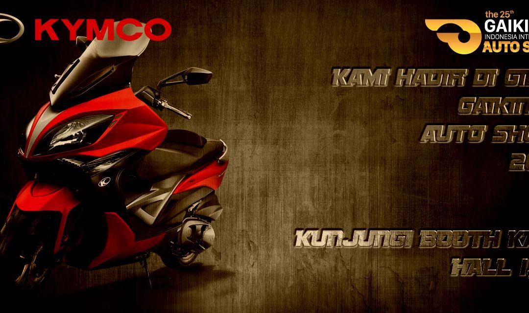 KYMCO Indonesia GIIAS 2017
