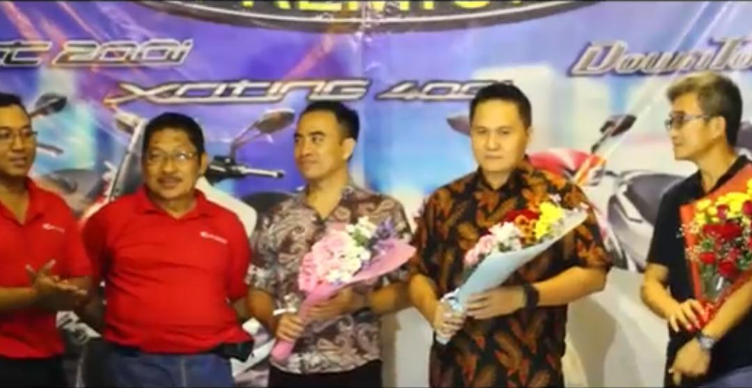 Launching KYMCO Premium Bali