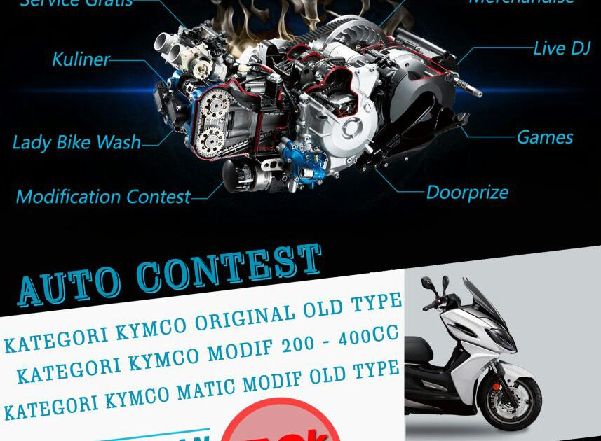 KYMCO Nation1 Paradise of KYMCO 6-7 Januari 2018
