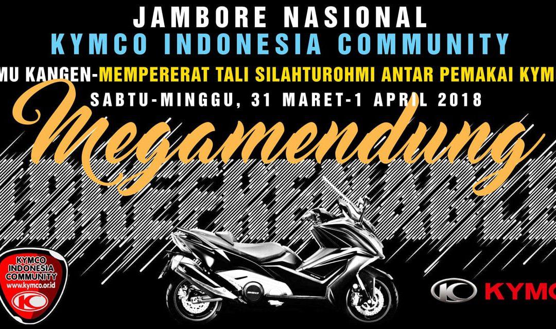 Jambore Nasional KYMCO Indonesia 2018 Megamendung Bogor
