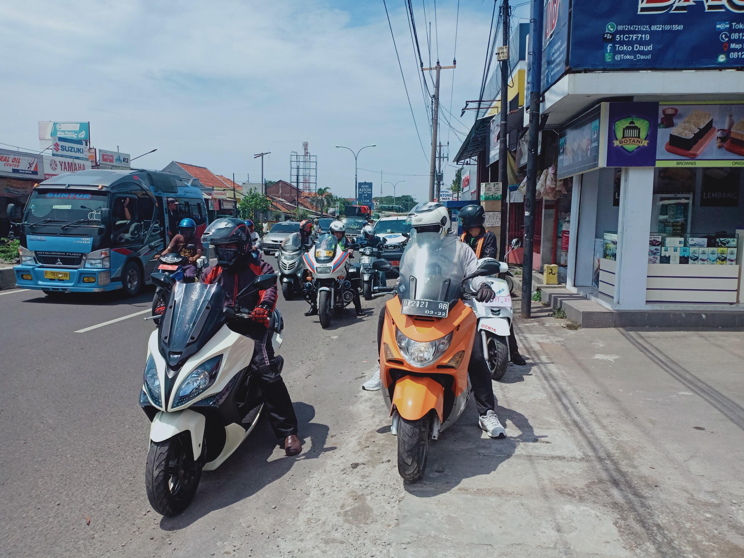 rolling-thunder-kymco-indonesia-community-cirebon-2019