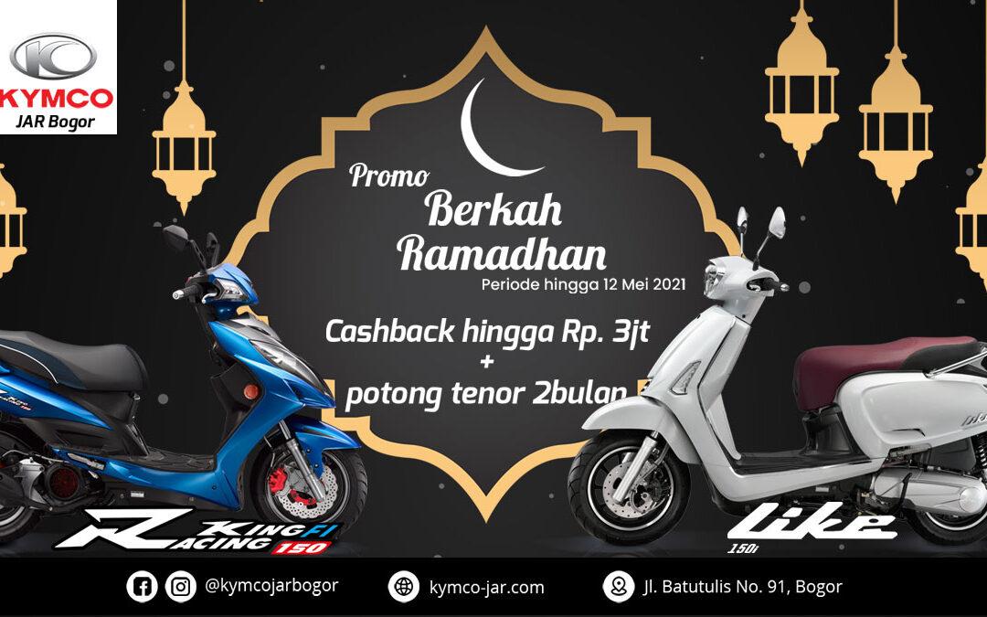 Dealer KYMCO JAR Bogor Promo Ramadan Berkah