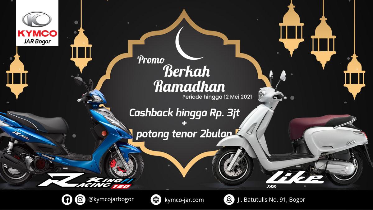 dealer kymco bogor jar promo ramadan